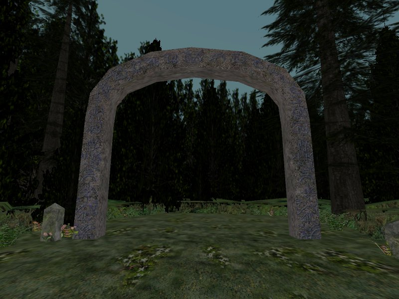 Mysterious arch